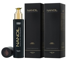Hair care with hair oil Nanoil