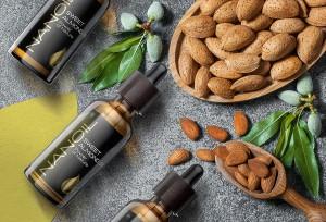 sweet almond oil nanoil hair care