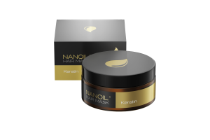 Keratin hair mask by Nanoil. The best choice that you can make to improve the strands overnight